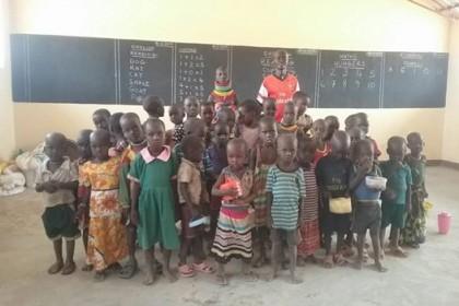 primer dia de clase en Chibilet