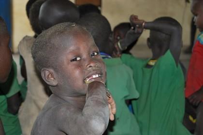crecer en Africa.....