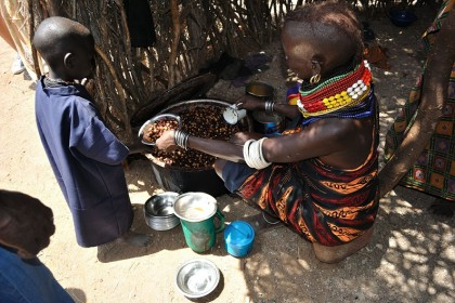 Proyecto de nutrición en Turkana