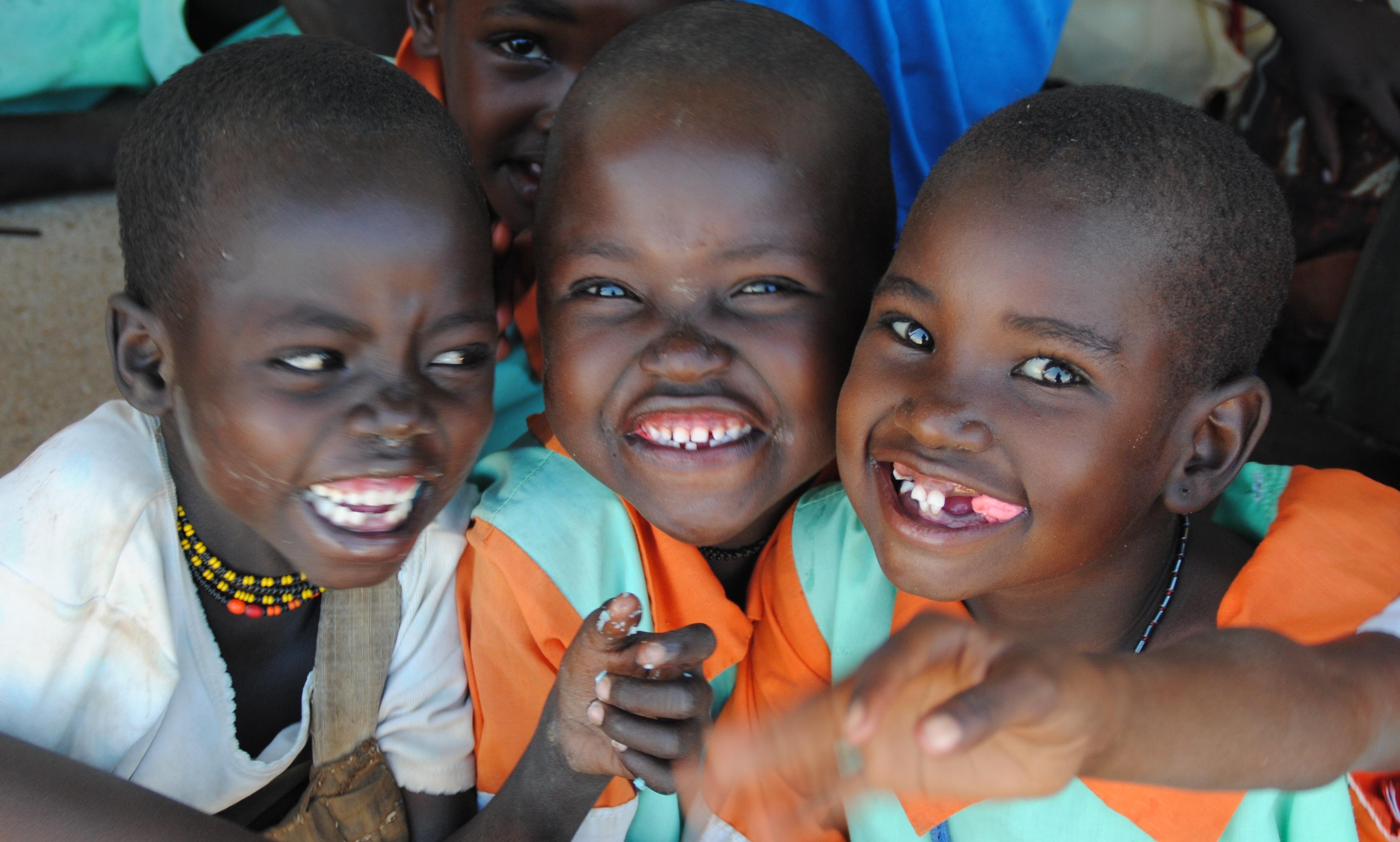 ¡Una Fundación basada en sus sonrisas!
