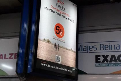 publicidad solidario de Exterior Plus