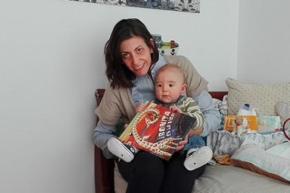 la carta de Luca de 11 meses