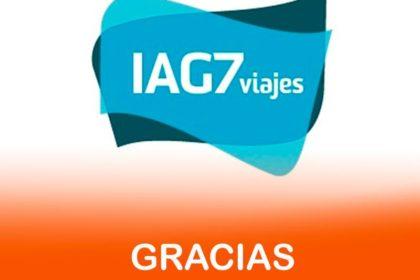Gracias a AIG7 Viajes