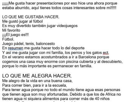 la carta de Alvaro