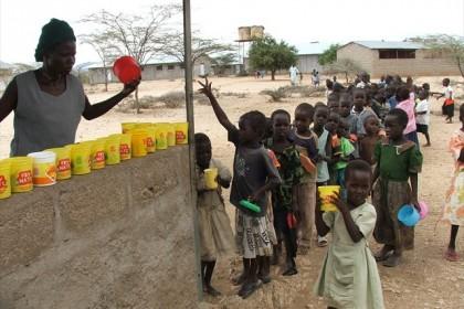 el centro en Lokichar en Turkana