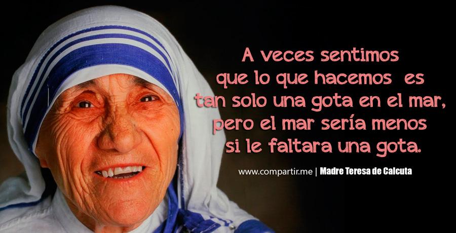 Imagenes Frases Madre Teresa Calculta 3 Fundacion Vipeika