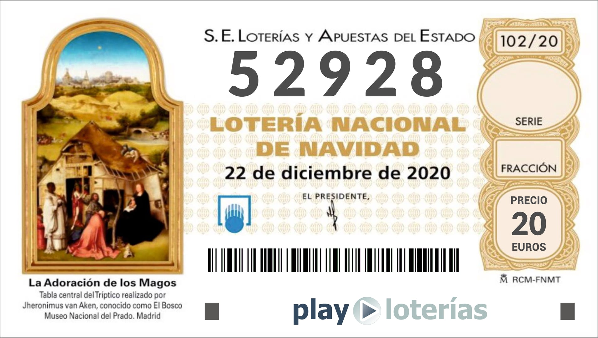 Últimos días para comprar la Lotería Vipeika